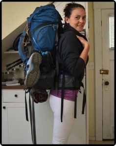 My pack for the West Coast Trail