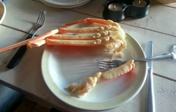 Dinner #2 begins :)
