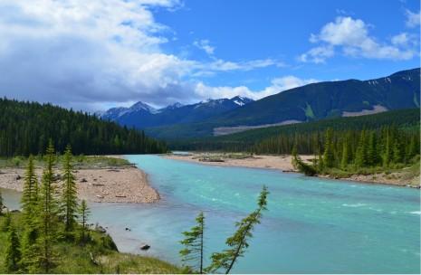 Beautiful Blue river!