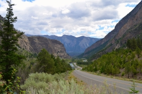 Looking towards Lillooet