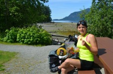 Break at Porteau Cove