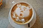 My cappuccino bear