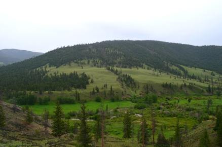 Riding through Ranchland