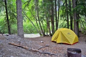 Cottonwood camping