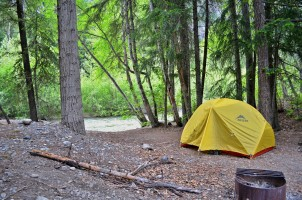 Cottonwood camping