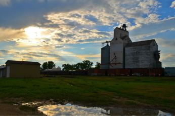 Every town has its grain elevator