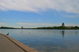 Wescana Lake in Regina