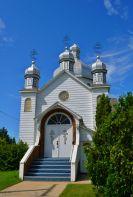 Ukranian church in Oakburn