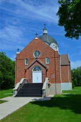 A second Ukranian Church in Oakburn