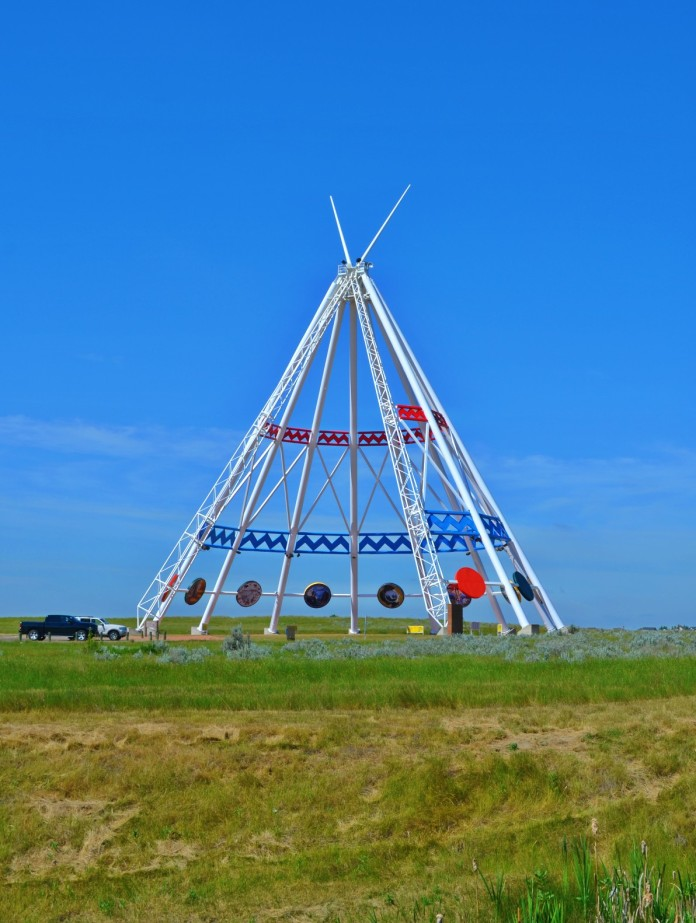 World's largest Teepee - Medicine Hat