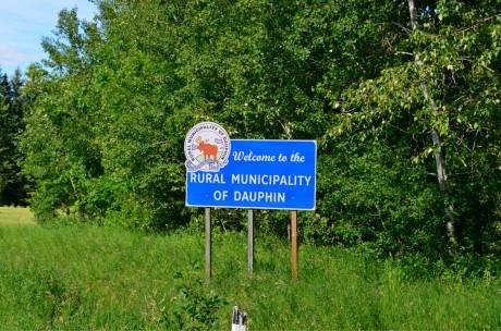 Entering Dauphin