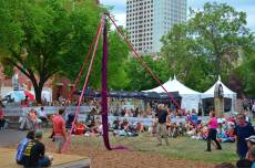 Fringe Festival - they took too long getting to the park where they actually used this.. we had to go eat