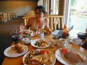 The breakfast of champions - Alex's picture from The Narrows