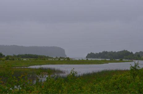 A foggy look at Nipigon Lake/River