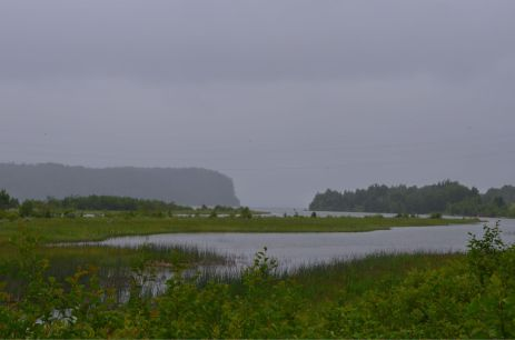A foggy look at Nipigon Lake/River