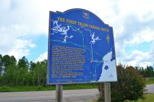 The First Trans-Canada route was with canoes!