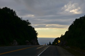 The long downhill into Montreal River