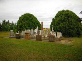Alex's pic of a pioneer cemetery