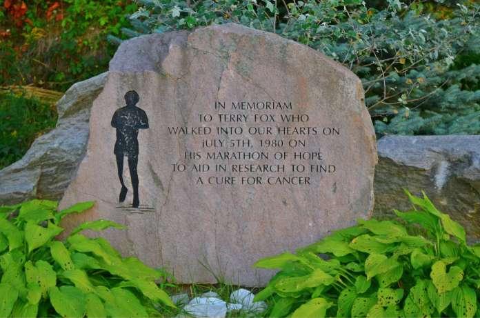 Kaladar Terry Fox memorial