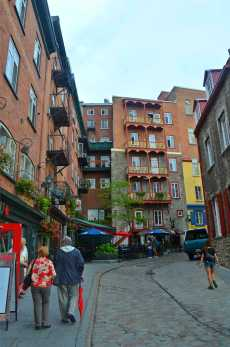 Cute Quebec streets