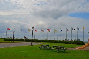 All the provincial flags