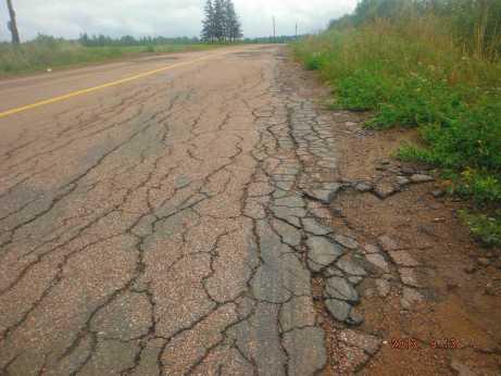The rough rough road (Alex's)