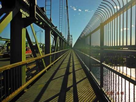 The bridge into Halifax