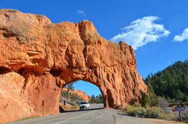 Driving to Bryce - Exciting!