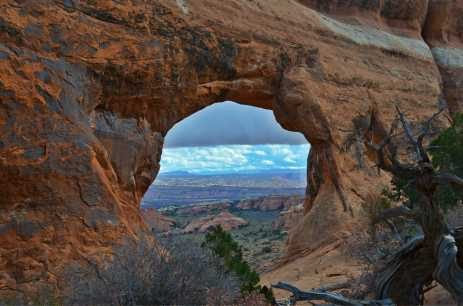 One of many arches along Devil's Garden Hike