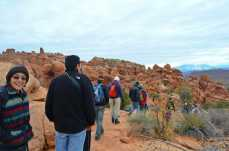 Ranger-led hike through the Fiery Furnace